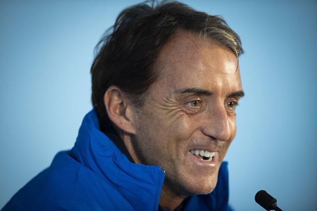曼奇尼:我想带领意大利赢得欧洲杯 并重返世界杯