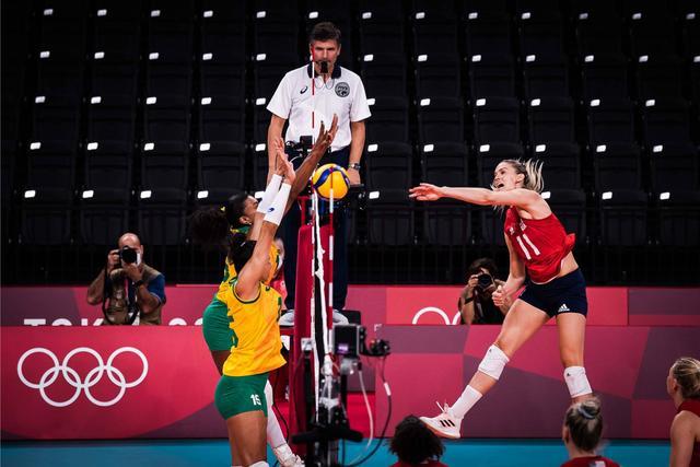 奥运女排综述:美国创队史首摘金 中塞意三强受挫