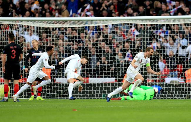 英格兰2-1逆转胜克罗地亚