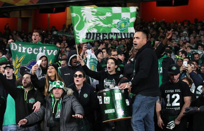 做客的葡萄牙球迷