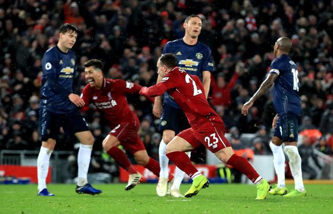 利物浦3-1力擒曼联