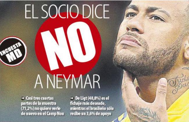 巴萨7成会员反对签回内马尔 最想要的球员是他_lol竞猜平台