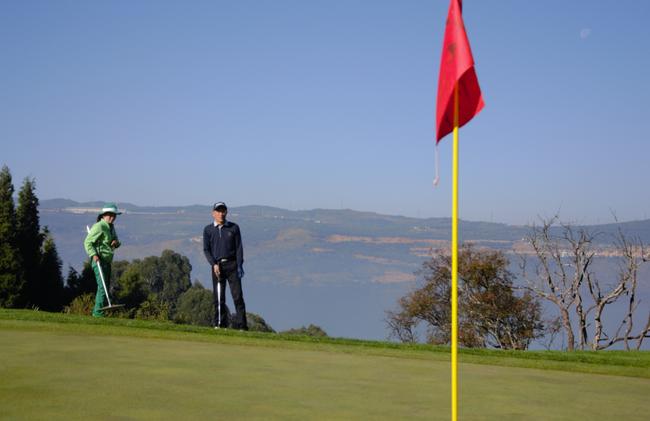高尔夫球赛的官子阶段——果岭推杆