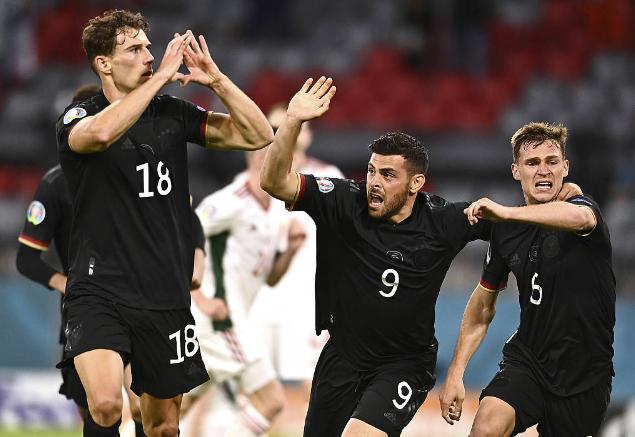 德國2-2匈牙利