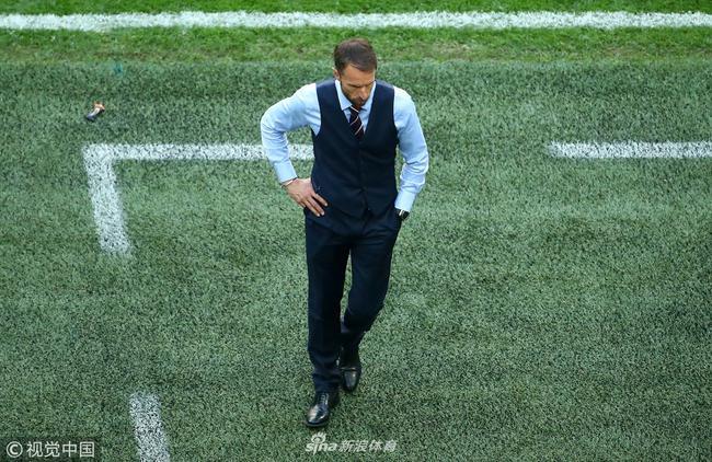索斯盖特率领英格兰杀入世界杯四强