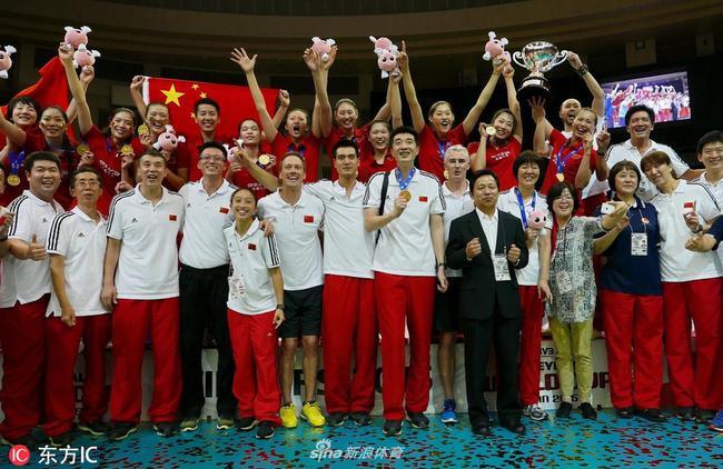 中国女排2015年世界杯夺冠