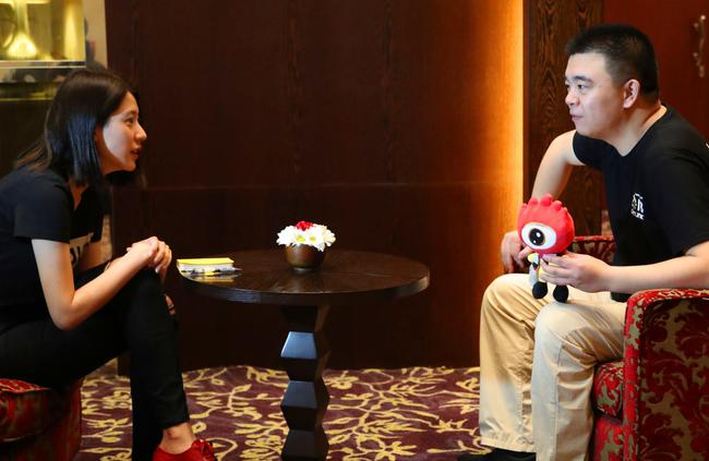 亚运会LED显示屏提供商雷凌显示技术董事长邓涛接受采访