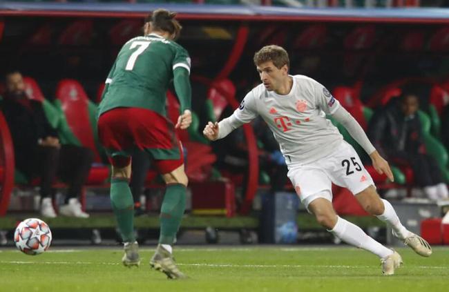 【博狗扑克】欧冠-双后腰进球 科曼失良机 拜仁2-1连胜领跑