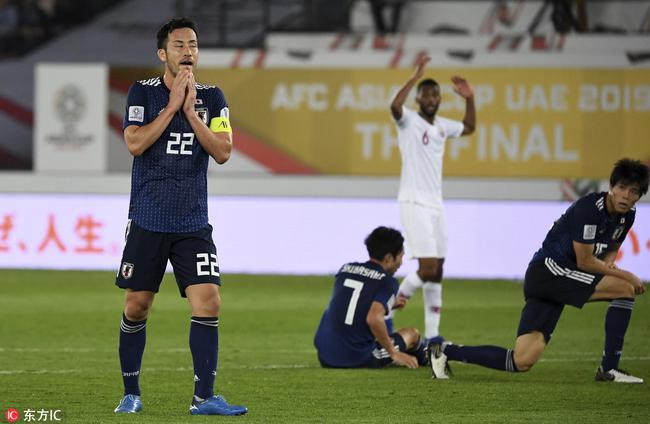 日本队完败