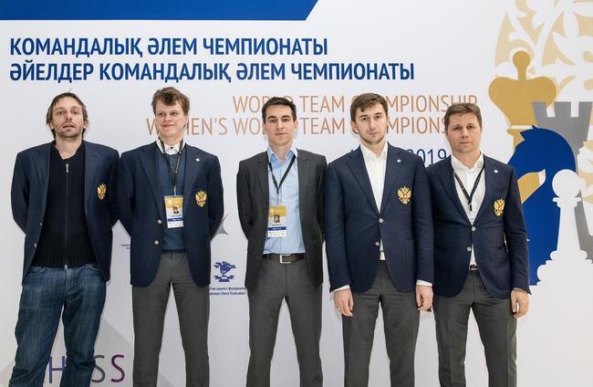 俄罗斯男队