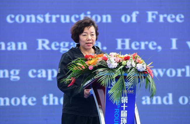 中国帆船帆板运动协会主席张小冬