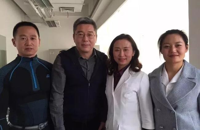 前央视主持人刘建宏老师调理后合影
