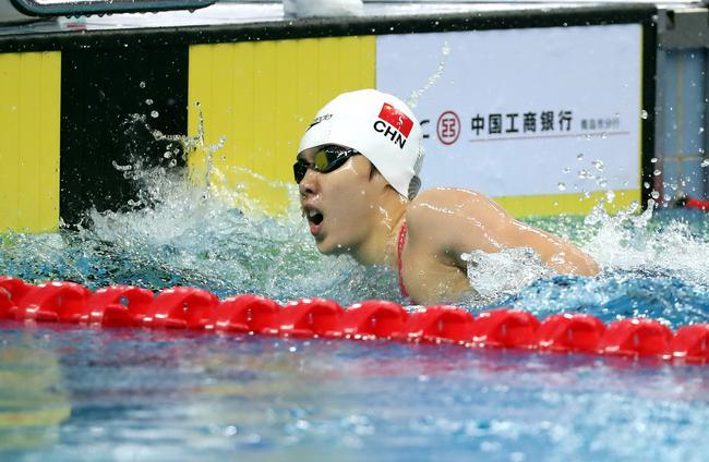 杨浚瑄200自冲到世界一流 奥运有望击败莱德基