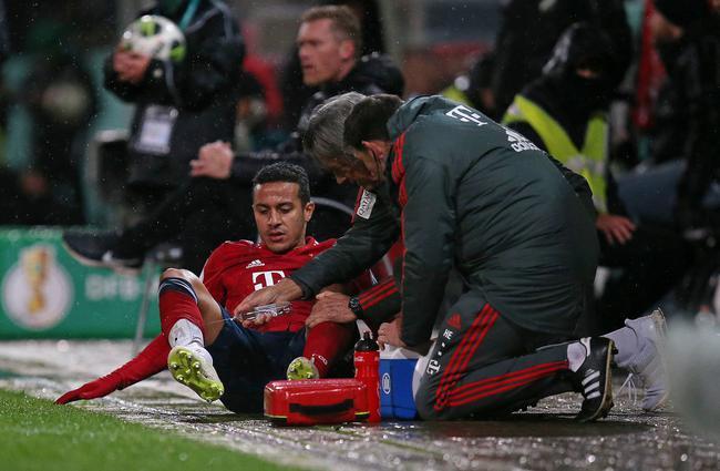 蒂亚戈受伤