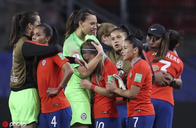 智利赢球仍然出局