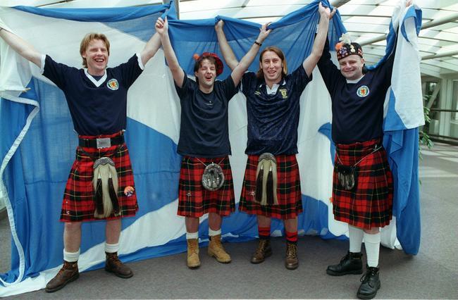 苏格兰球迷们