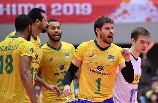 男排世界杯巴西十一连胜夺冠波兰美国获二三名