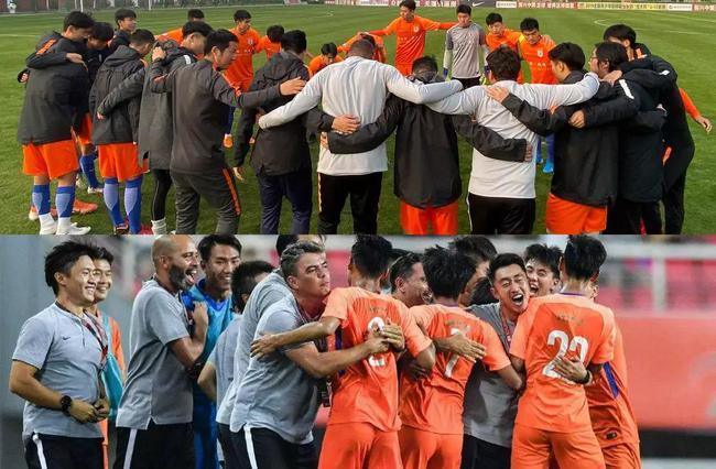 鲁能U19红黄两队年度总结:遗憾与希望并存