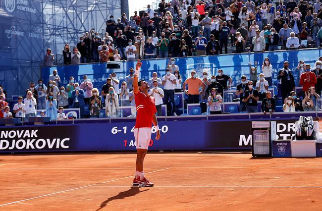 德約科維奇在法網開賽前奪下了個人的賽季第二冠