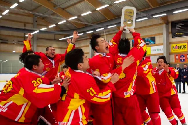 U20男子组夺冠