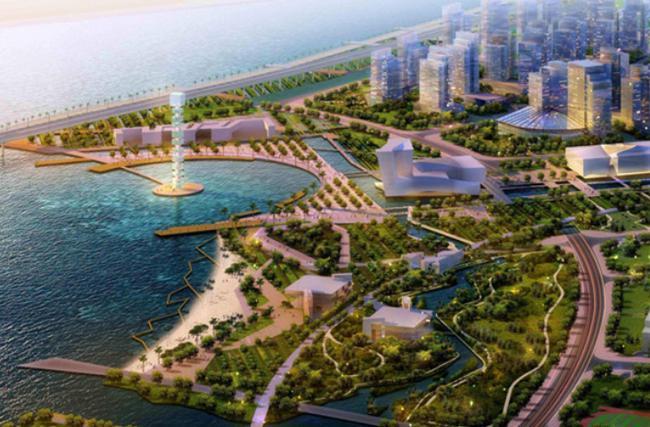 深圳前海自贸区规划图