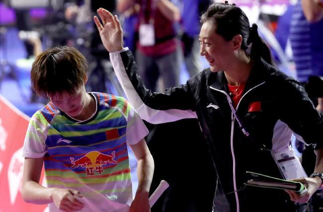 陈雨菲被恩师经典战折服 称是印象最深的奥运赛事