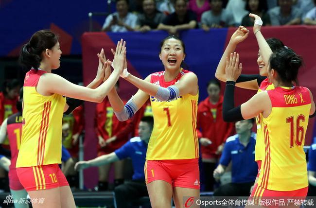 中国女排有望3连胜