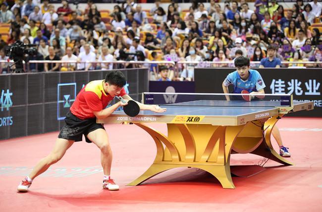 2018年中国乒乓球公开赛比赛图