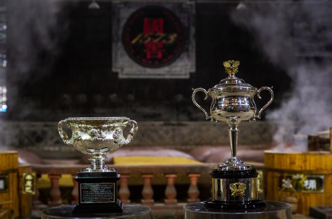 澳网奖杯游泸州 中国酒城与世界网球盛事紧密相连