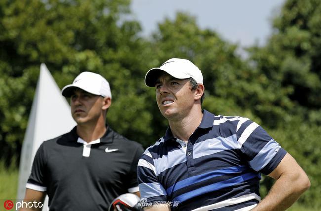麦克罗伊(右)和科普卡下周都将参赛