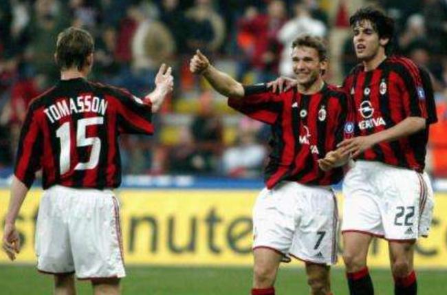 过去AC米兰的替补前锋托马森每赛季都可打进10球以上