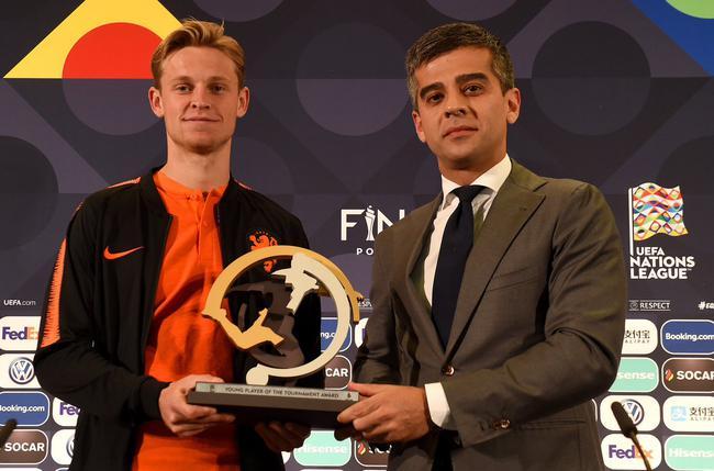 德容获得最佳年轻球员