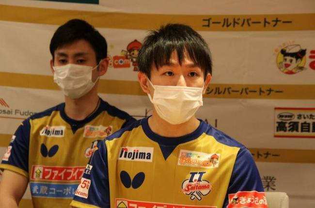丹羽孝希加盟TT彩玉俱乐部 新赛季目标只有冠军