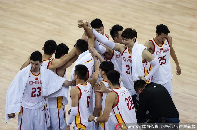 中国男篮窗口期取得两连胜