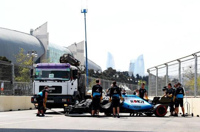 F1阿塞拜疆站FP1被取消