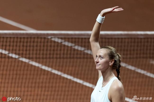 卫冕冠军科维托娃