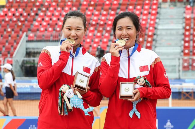 中国网球女双大运会摘金18年后重现昔日辉煌