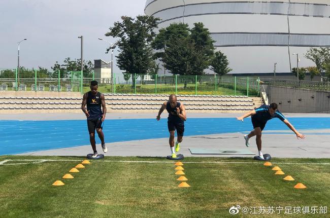 苏宁夏训继续一天两练 下周两场热身赛即将开打