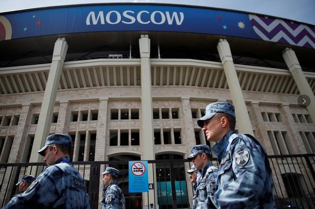 3万军警护卫俄世界杯开幕式