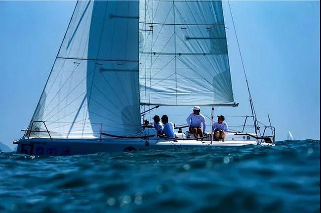 第12届中国杯帆船赛于11月8日至12日在深圳大亚湾举行