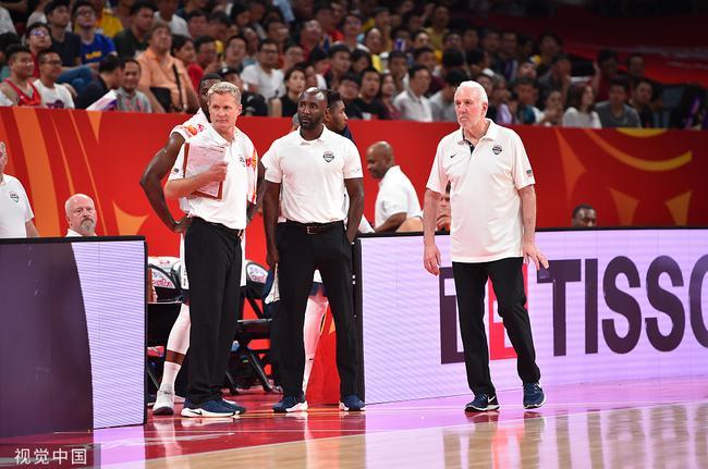 美国男篮教练组