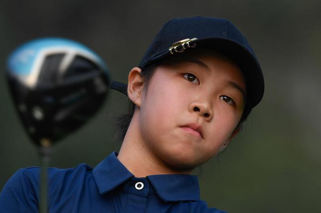 10岁肖凯莉晋级八强