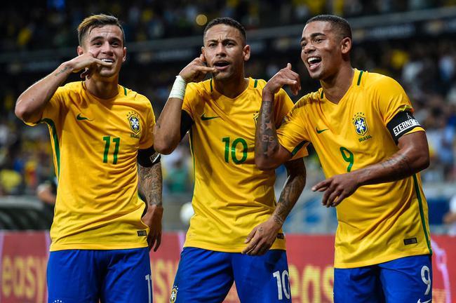 巴西队来势汹汹