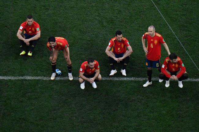 西班牙众将失落