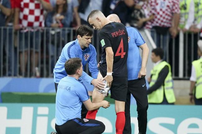 佩里西奇大腿受傷