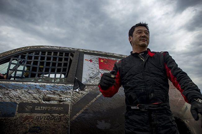 丝绸之路拉力赛SS6:中国车手包揽T2组前二