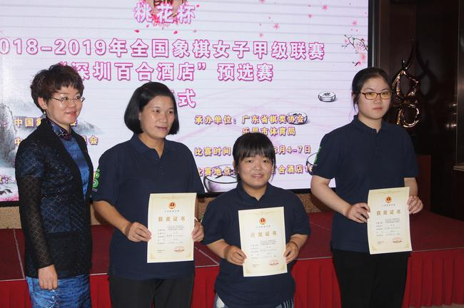 团体第三名杭州燃气集团队