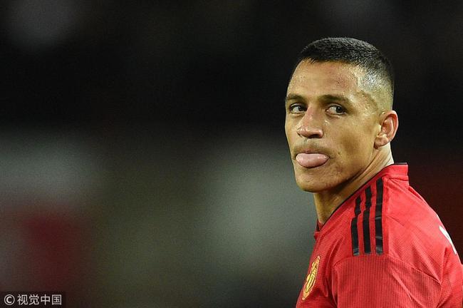 桑切斯现在在曼联有一些失落和迷失