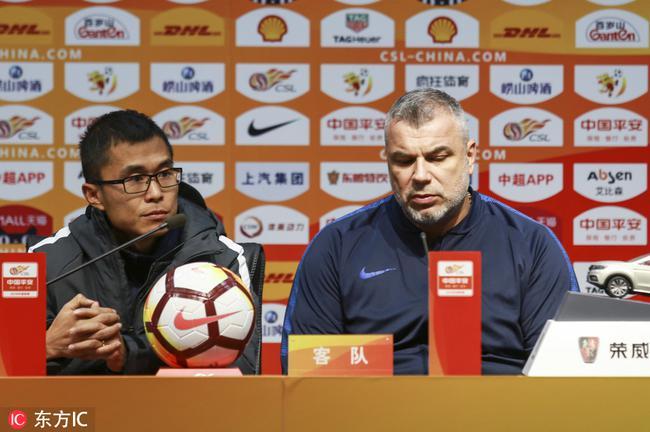 苏宁主帅盛赞鲁能实力强劲 承认与前4球队有差距