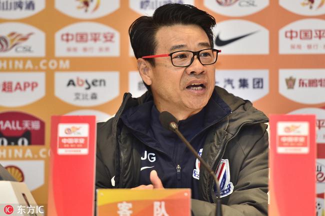 吴金贵:我带申花在北京还没输过 要打出士气精神